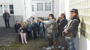 ALBSTADTALB-Spaziergang-Hinterhof Maschenmuseum